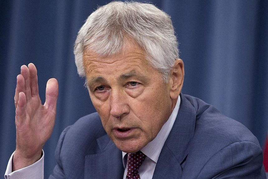 Secretary of Defence Chuck Hagel speaks during a news conference at the Pentagon on July 31, 2013. The Pentagon announced new measures on Thursday to combat sexual assault in the military but stopped short of stripping commanders of legal authority o