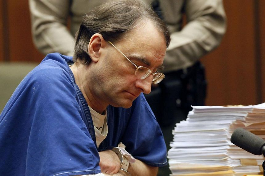 Christian Karl Gerhartsreiter, 52, appears during his sentencing at a Los Angeles court in San Marino, California on Thursday, Aug 15, 2013. -- PHOTO: AP