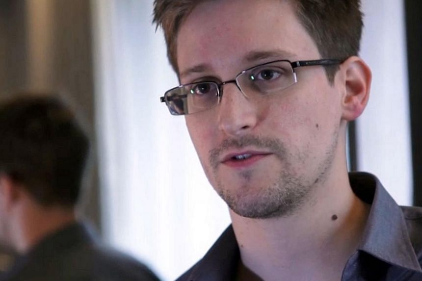 A still frame grab recorded on June 6, 2013 and released to AFP on June 10, 2013 shows Edward Snowden speaking during an interview with The Guardian newspaper at an undisclosed location in Hong Kong. -- FILE PHOTO: AFP