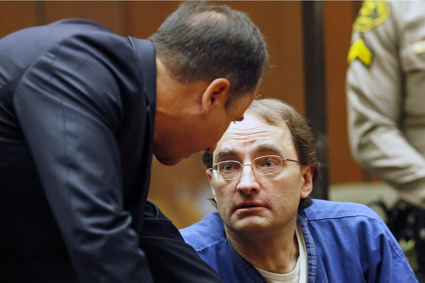 Christian Karl Gerhartsreiter, 52, arrives in court for his sentencing at a Los Angeles court in San Marino, California. on Thursday, Aug 15, 2013. -- PHOTO: AP