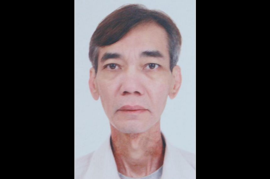 Mr Choo (above) died after his car ploughed through a central divider, skidded across Sin Ming Road and crashed into a drain. -- PHOTO: SHIN MIN