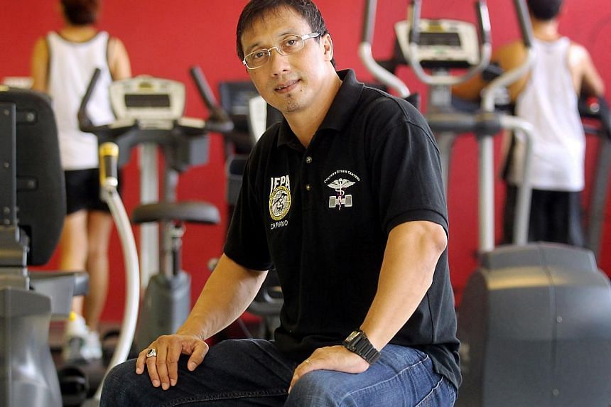 Mr Rano Izhar Rahmat, President of the Singapore Body-Building Federation (SBBF). The SBBF has had its National Sports Association status revoked with immediate effect. -- BH FILE PHOTO: MOHD TAUFIK A KADER