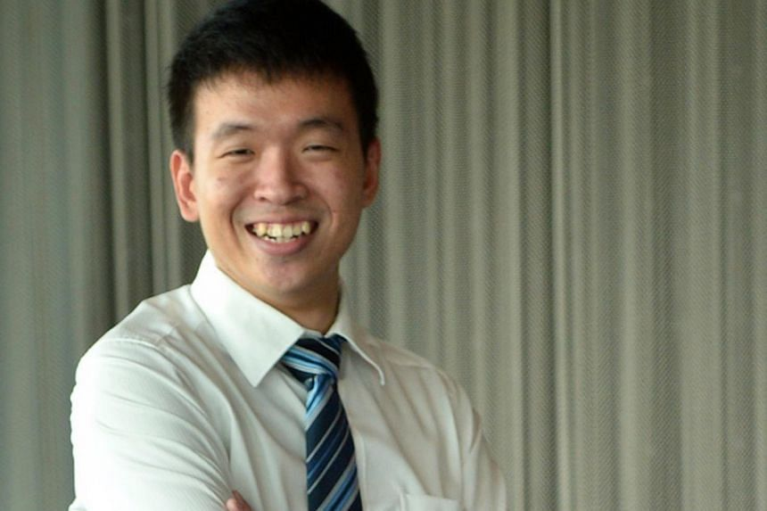 When he was in Primary 1, Mr Kelvin Ang hacked into his school's computer to surf the Internet, which pupils were barred from using. -- ST FILE PHOTO: MUGILAN RAJASEGERAN
