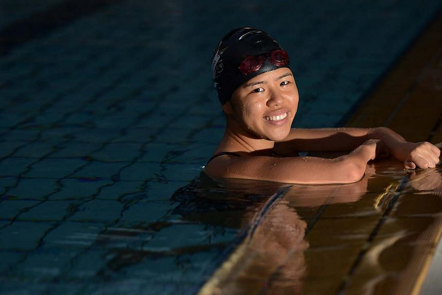 Paralympic swimmer Yip Pin Xiu won a silver in the women's 50m backstroke (S3 category) at the International Paralympic Committee World Swimming Championships in Montreal early Friday morning -- ST FILE PHOTO: RAJ NADARAJAN