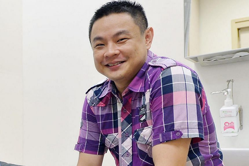 Cabby Tong Ming Ming says he will be happy if his story can help save even a single life. -- ST PHOTO: ALPHONSUS CHERN