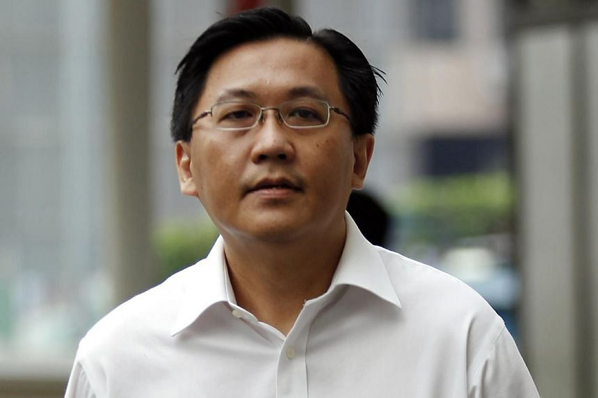 The Corrupt Practices Investigation Bureau (CPIB) officer Edwin Yeo Seow Hiong was charged in court with misappropriating a total of $1.7 million in public funds. -- ST PHOTO: WONG KWAI CHOW