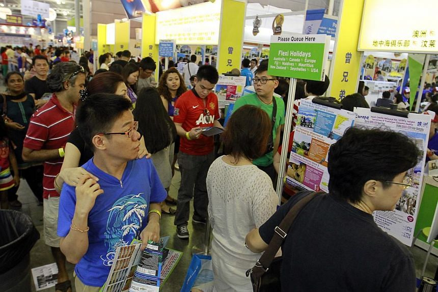 While the five most popular destinations at last weekend's Natas travel fair were Europe, Japan, South Korea, China and Taiwan, travel firms saw interest in exotic locations like Peru, Iran and South Africa.