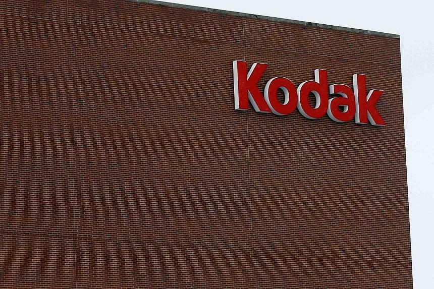 The Kodak logo is seen at the now mostly unused Kodak factory in Rochester, New York, on Jan 1, 2013. Eastman Kodak Co, once a mighty photography pioneer, earned court approval on Aug 20, 2013, for a plan to exit bankruptcy as a much smaller digital-