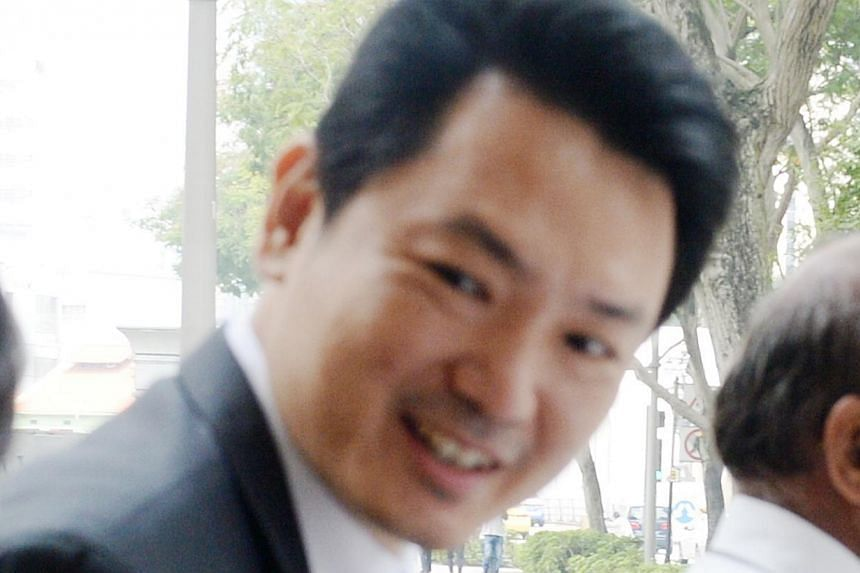 Ven Meow Di claims his role was to introduce investors like Mr Chua to Mr Tan (above), whom he alleges is the brains behind the idea.  Mr Chua (left) yesterday testified that the Venerable Meow Di had persuaded him to hand over $1,394,860 after he ap