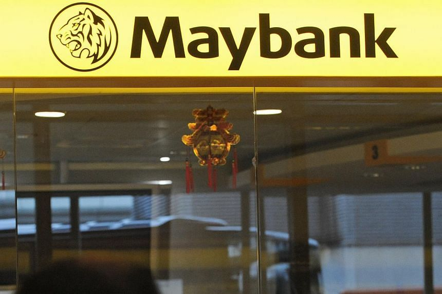 Maybank Singapore's first-half profit before tax rose 7.5 per cent to $198.07 million, despite tough economic conditions in the first six months of the year, the bank said on Wednesday. -- ST FILE PHOTO: MARK CHEONG