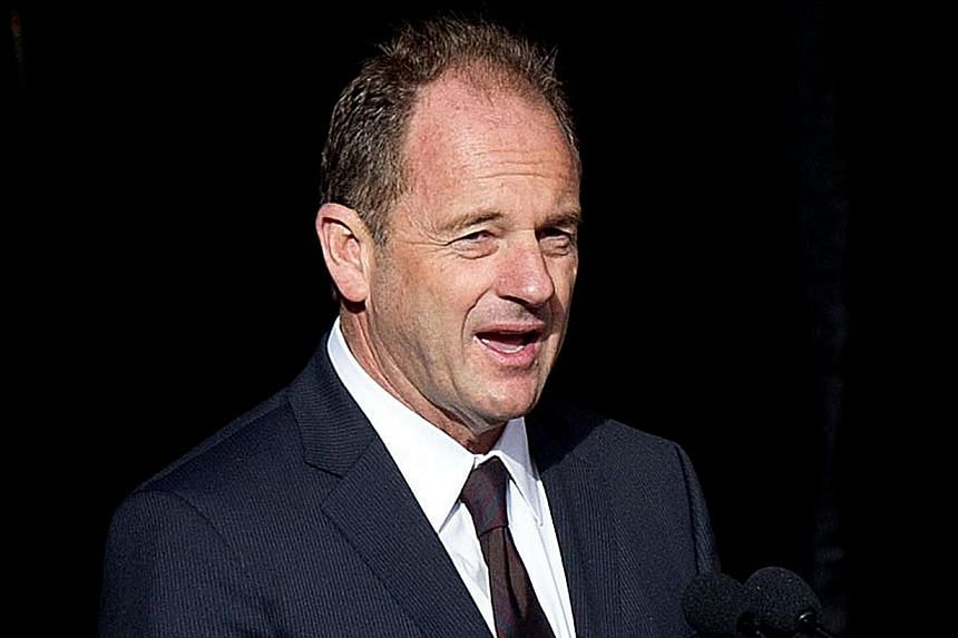 The leader of New Zealand's main opposition Labour Party Mr David Shearer announced he would quit his position on Thursday after consistently trailing Prime Minister John Key in opinion polls. -- FILE PHOTO: AFP