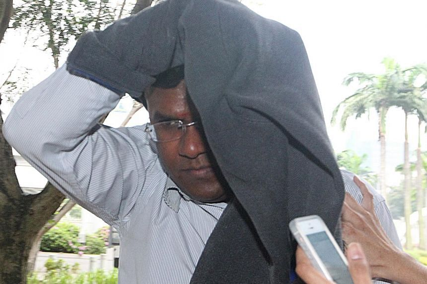 Sivakumar Selvarajah posed as a policeman in a bid to pressure a 16-year-old girl into having sex with him. The 41-year-old aircraft technician was on Friday jailed for 12 years and given 12 strokes of the cane. -- ST FILE PHOTO: ZAOBAO
