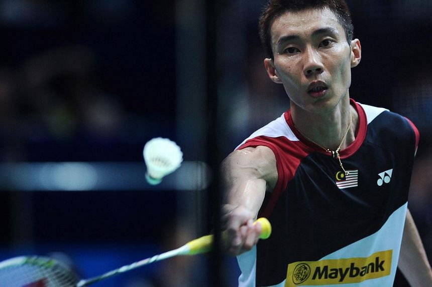 Badminton's world No.1 Lee Chong Wei faced calls on Friday to reduce his rigorous playing schedule if he wants to extend his career to the 2016 Olympics. -- FILE PHOTO: AFP