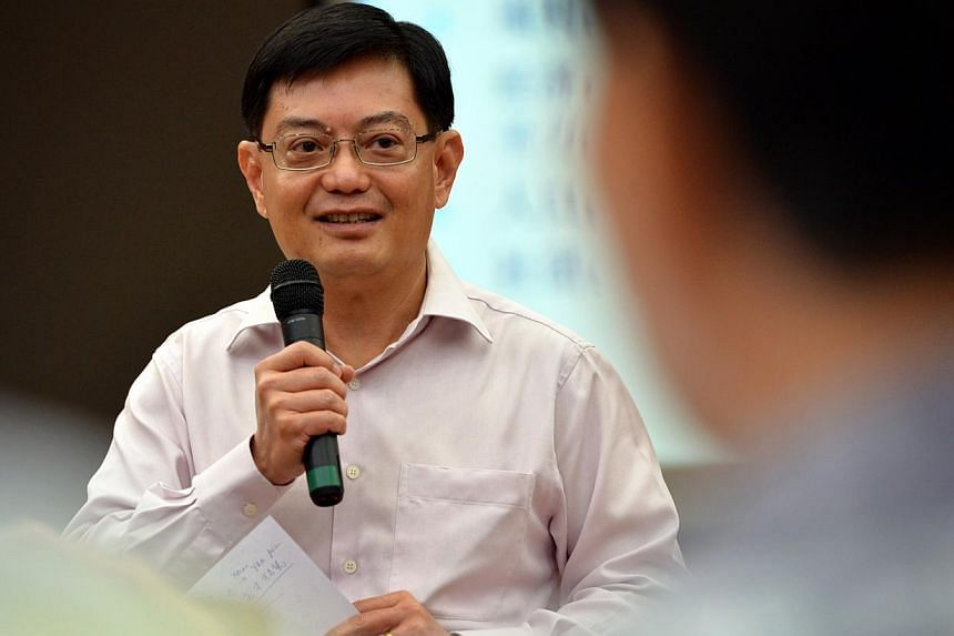 A total of 815 students from Nanyang Academy of Fine Arts (Nafa) graduated on Saturday afternoon. Education Minister Heng Swee Keat (above) graced the convocation at the Singapore Conference Hall. -- ST FILE PHOTO: KUA CHEE SIONG