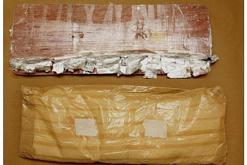 'Ice' seized in the CNB operation on Aug 23, 2013. -- PHOTO: CENTRAL NARCOTICS BUREAU