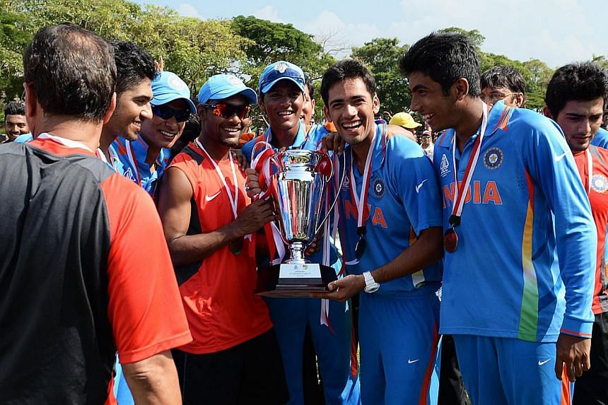 The expected fiery encounter between the India and Pakistan Under-23 sides did not materialise, as a tame Pakistan lost the final of the inaugural Asian Cricket Council's Emerging Teams Cup by nine wickets at Kallang on Sunday, Aug 25, 2013. -- ST PH