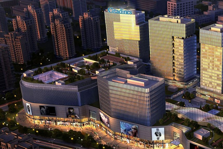 Scheduled to open in late 2014, the 100-unit Citadines Intime City Hangzhou will be Ascott's 11th Citadines Apart'hotel in China. -- PHOTO: CAPITALAND