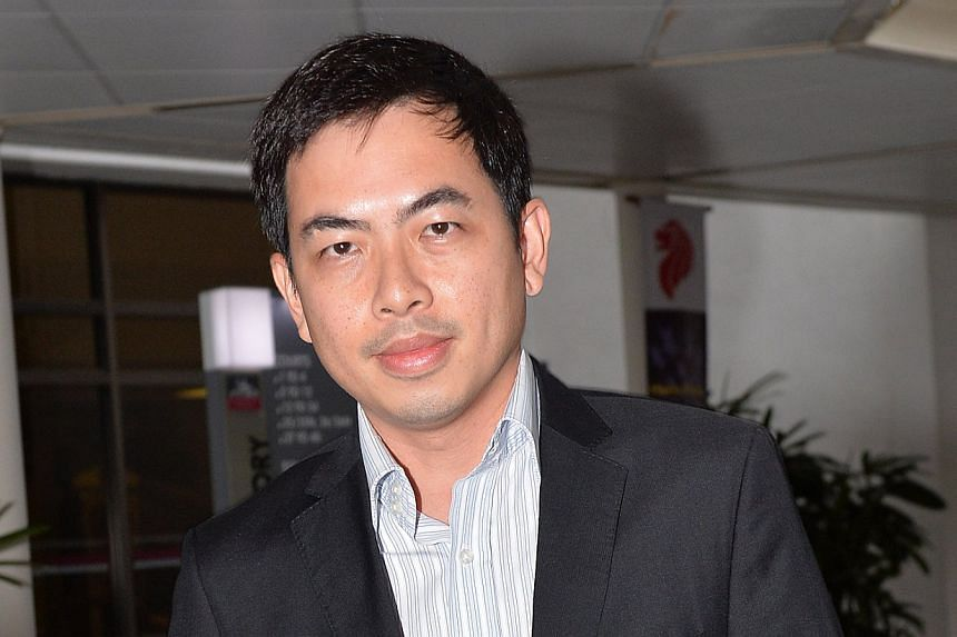Music firm Xtron Productions and City Harvest Church conspired to cover up the misuse of church funds, the State sought to show on Tuesday, Aug 27, 2013, as it continued to question Xtron director Choong Kar Weng (above) for a second day. -- ST PHOTO
