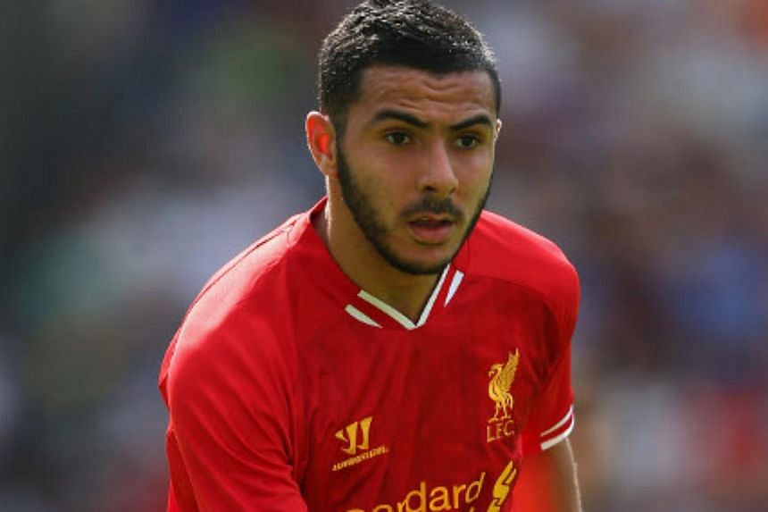 Stoke City have signed Morocco winger Oussama Assaidi (above) from Liverpool on a season-long loan, the English Premier League football clubs said on Tuesday, Aug 27, 2013.  -- PHOTO: LIVERPOOLFC.COM