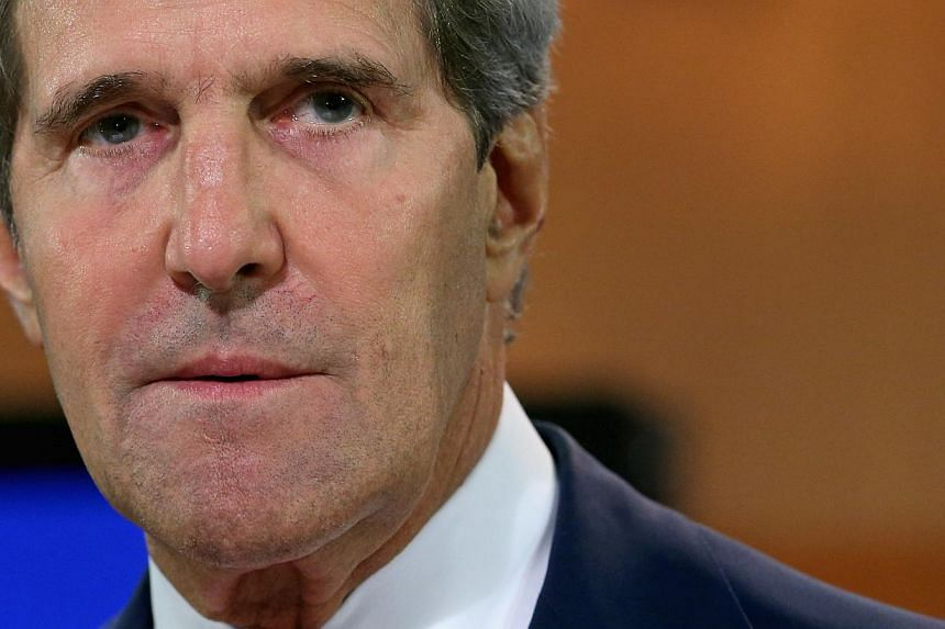 US Secretary of State John Kerry delivers a statement about the use of chemical weapons in Syria at the Department of State Aug 26, 2013 in Washington, DC. Mr Kerry said that chemical weapons had been used to kill scores of people during the ongoing