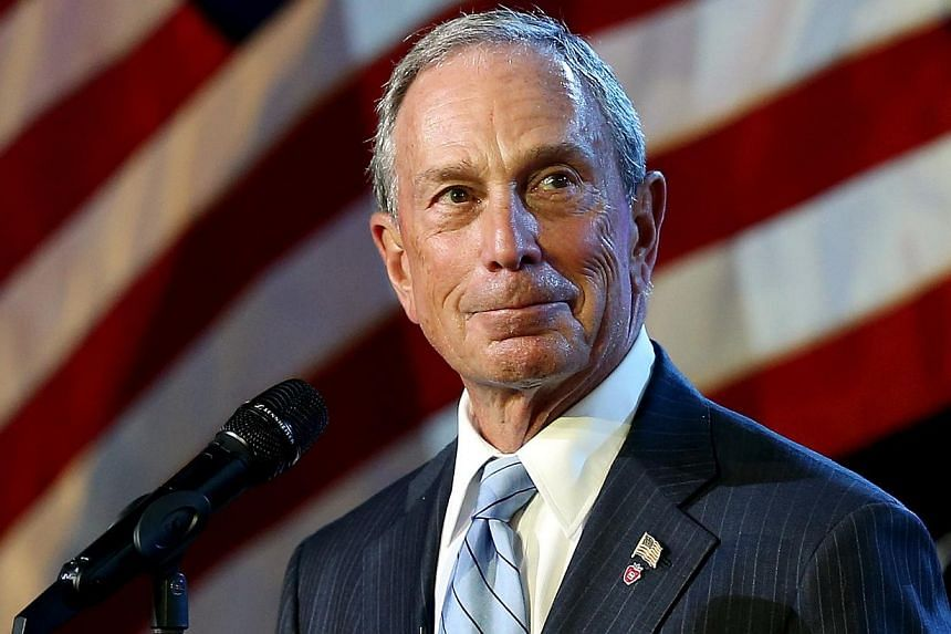 Mayor of New York City Michael Bloomberg speaks on stage during the opening ceremony during Day One of the 2013 US Open at USTA Billie Jean King National Tennis Center on Aug 26, 2013, in the Flushing neighbourhood of the Queens borough of New York C
