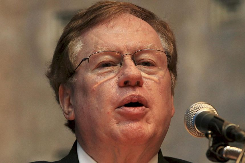 US special envoy for North Korean human rights issues, Robert King, speaks during Chaillot Human Rights Forum in Seoul, South Korea, on Tuesday, Aug 27, 2013. US will Mr King to Pyongyang this week to seek the release of an imprisoned US Christian mi