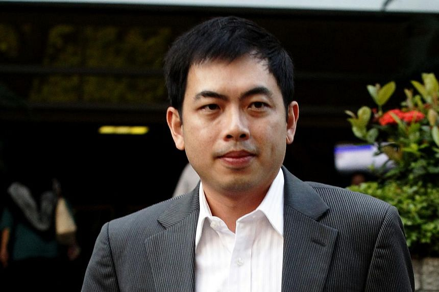 Mr Choong Kar Weng, a former City Harvest Church (CHC) board member and a director of Xtron Productions – which managed Sun Ho's music career – outside the Subordinate Courts on Aug 27, 2013. Xtron, accused of helping CHC misuse church funds, w