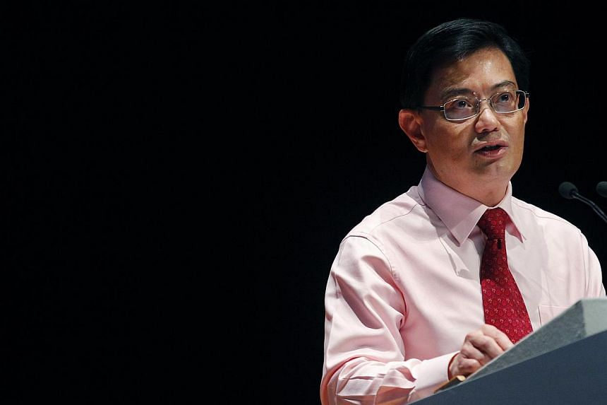 Minister for Education Heng Swee Keat delivering the keynote speech during the annual Ministry of Education (MOE) Workplan Seminar at Ngee Ann Polytechnic on Sept 12 2012.As the country plans for its future, it would do well to draw lessons fro