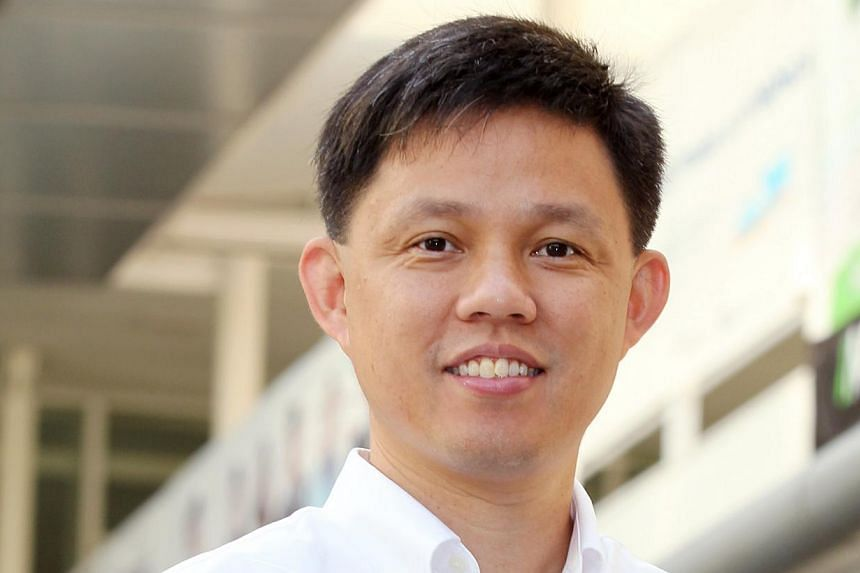 Acting Minister for Social and Family Development Chan Chun Sing, 44, has been promoted to a full minister, making him one of the fastest-rising politicians in recent history.-- BH FILE PHOTO: JOHARI RAHMAT