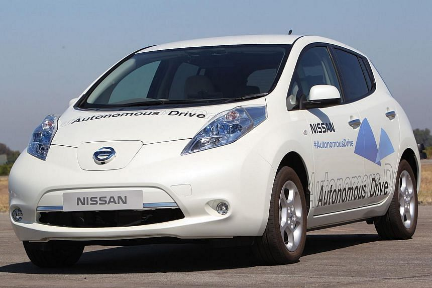This photo released by Nissan Motor Co, Ltd. follows an announcement on Aug 27, 2013 that the company will be ready with multiple, commercially-viable Autonomous Drive vehicles by 2020. -- FILE PHOTO: AFP