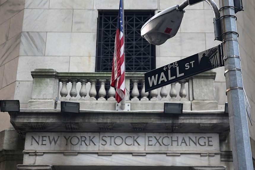 The New York Stock Exchange stands on Wall Street on Aug 27, 2013 in New York City. Wall Street rose on Wednesday as energy shares rallied on higher oil prices as the United States (US) and its allies edged closer to military action against Syria. --