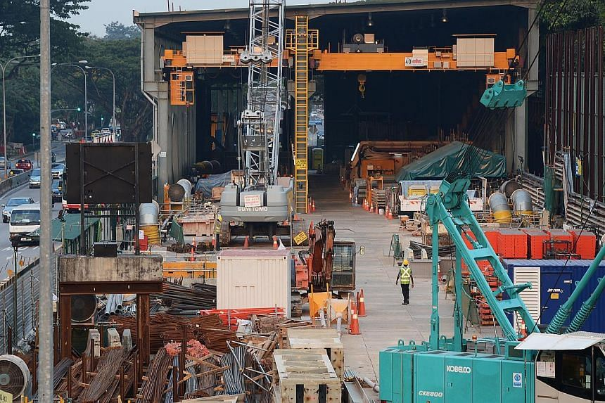 The Land Transport Authority has appointed McConnell Dowell South East Asia and SK E&C (Singapore) to complete construction works for three Downtown Line stations after the earlier contractor Alpine Bau went bust. Alpine Bau was working on the li
