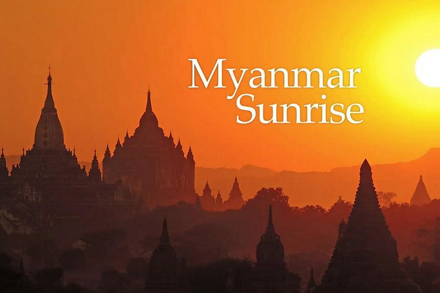 """A screengrab from Myanmar Sunrise, the first interactive e-book launched by The Straits Times. Thee-bookwas the winner in the """"Specialty/Niche Sites and Niche Apps"""" categoryat this year's Pacific Area Newspaper Publishers' Associati"""