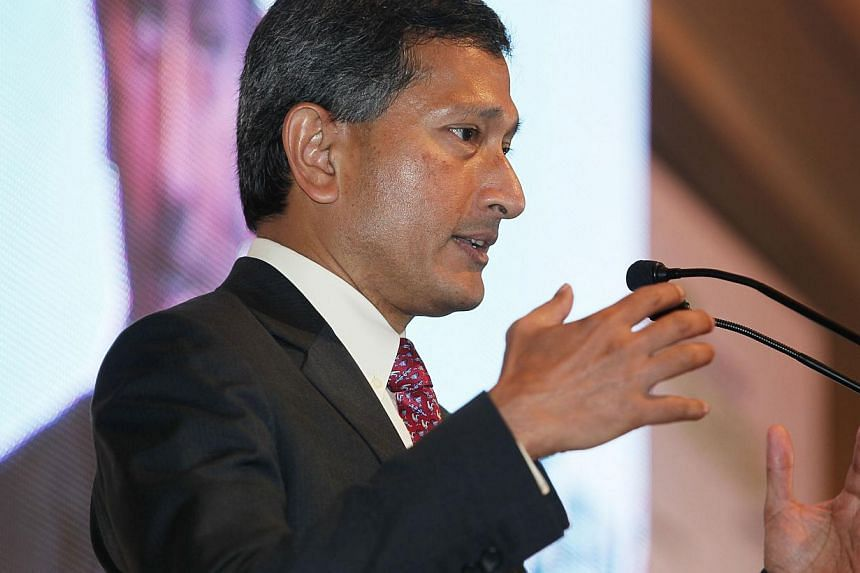 Minister for the Environment and Water Resources Vivian Balakrishnan speaks at the Singapore Environmental Achievement Awards 2013 on Aug 22. Mr Balakrishnan on Wednesday, Aug 28, said discrimination was a key concern raised by Indian community leade