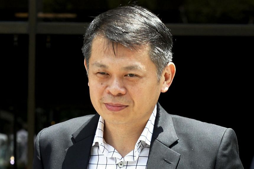 Mr Jeffrey Cheong said on Friday that he had not seen several documents related to the church's investments. -- ST PHOTO: WONG KWAI CHOW