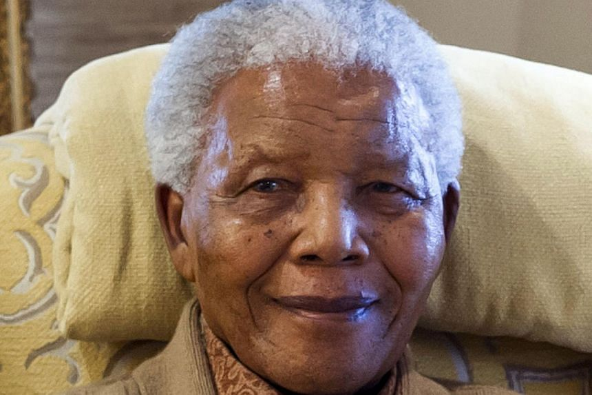 Former South African president Nelson Mandela at his home in Qunu, Eastern Capeon July 17, 2012.South Africa's presidency on Saturday, Aug 31, 2013, denied reports that MrMandela had been discharged from hospital and had returned to