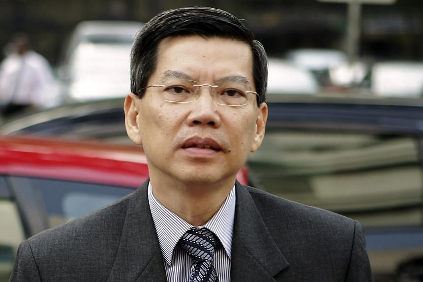 Former civil defence chief Peter Lim Sin Pang (above) has been dismissed from public service, the Ministry of Home Affairs said on Saturday, Aug 31, 2013. -- ST FILE PHOTO: WONG KWAI CHOW
