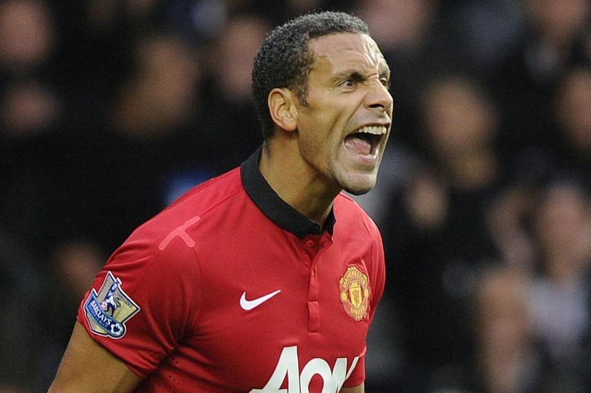 Manchester United's Rio Ferdinand during their English Premier League match against Swansea City at the Liberty Stadium on Aug 17, 2013. Ferdinand says Liverpool will not challenge for the Premier League title this season, ahead of their derby s