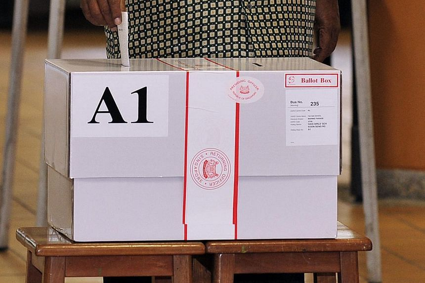 The Elections Department (ELD) has lodged a police report after they were alerted to a recent discovery of empty election ballot boxes. -- ST FILE PHOTO: DESMOND WEE