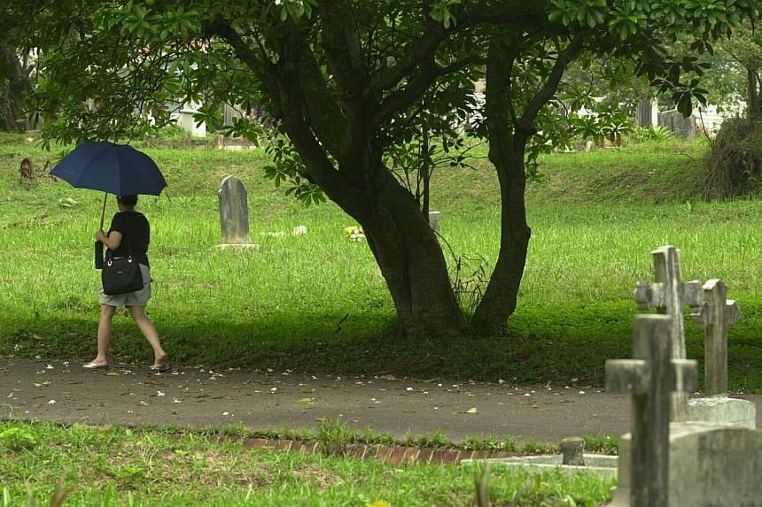 Bidadari cemetary will have to make way for new HDB flats. -- ST FILE PHOTO: STEPHANIE YEOW