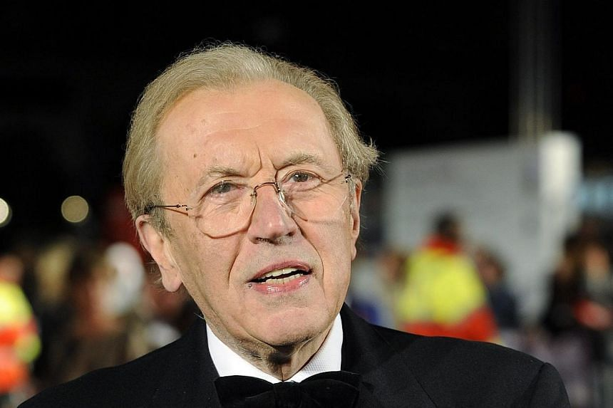 British journalist David Frost (above), best-known for interviewing former US president Richard Nixon, died of a heart attack on Saturday at the age of 74, the BBC reported on Sunday. -- FILE PHOTO: REUTERS