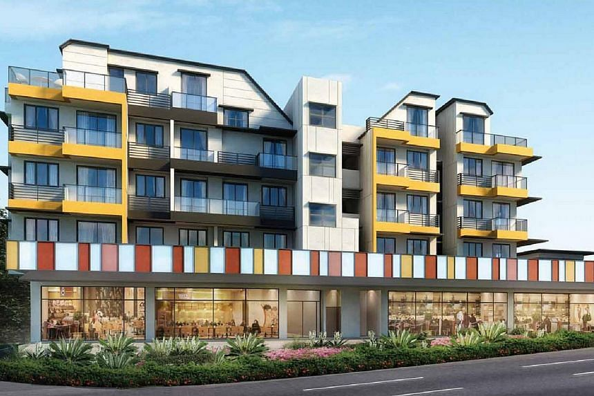 Novena Regency.Developers keen to offload hard-to-sell property are bringing back rental guarantees as a way to entice reluctant buyers without having to slash prices. -- PHOTO:SLP REALTY