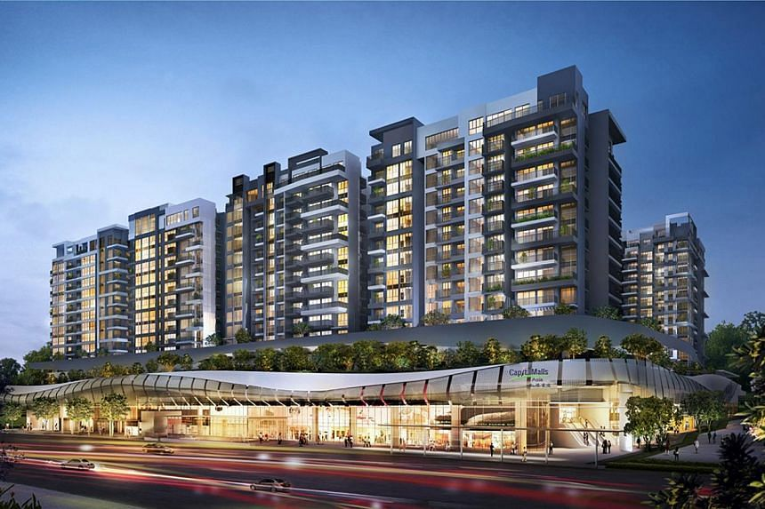 An artist's impression of Bedok Mall and Bedok Residences which sits above it. Over a thousand jobs are up for grabs at the Bedok Mall job fair in Bedok Town Centre. Recruiters are looking to fill positions for their stores at a brand new shopping