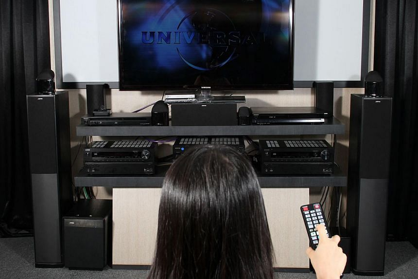 A new study has found that watching television is associated with increased levels of substances like cholesterol and triglycerides in the body.-- ST FILE PHOTO: TREVOR TAN