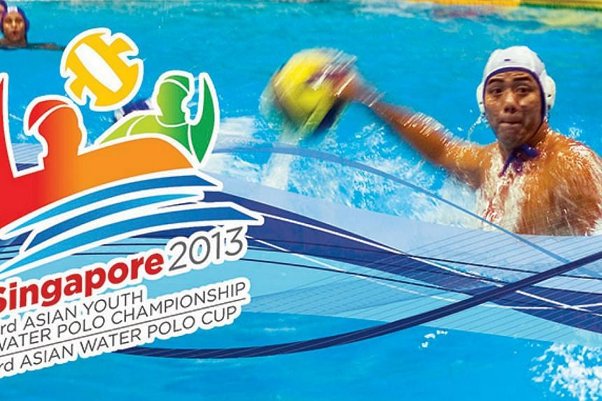 The 3rd Asian Youth Water Polo Championship, featuring the region's top Under-17 sides, will be held from Sept 25-30 at Toa Payoh Swimming Complex. -- PHOTO: AASFWATERPOLOSINGAPORE2013.COM