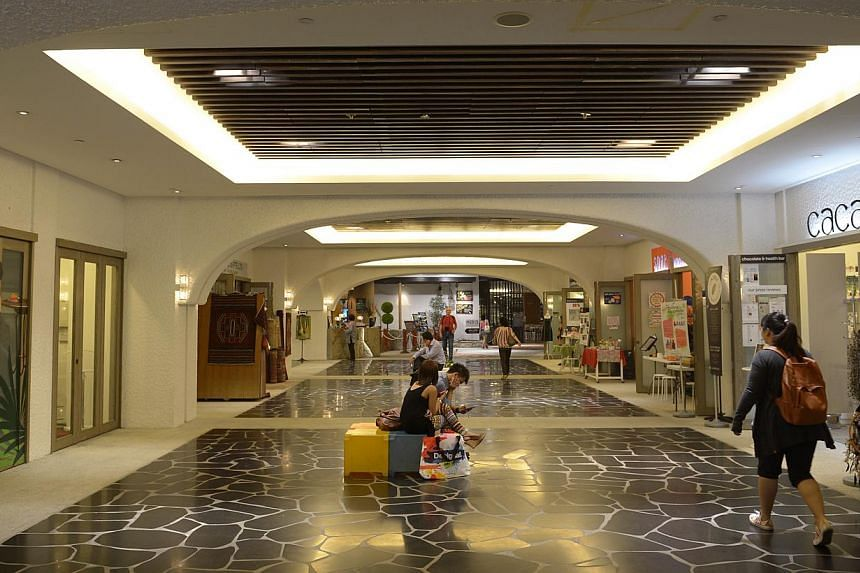 An underground linkway between Orchard Central and The Centrepoint. There is still scope to do much more in terms of making use of underground spaces in Singapore, said Minister for National Development Khaw Boon Wan on Tuesday. -- ST FILE PHOTO: DES