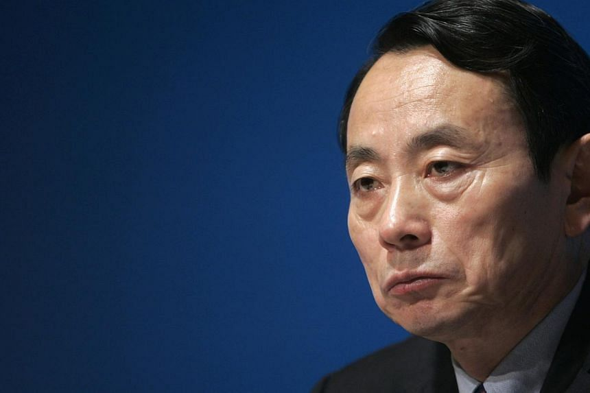 Vice chairman and president of PetroChina Company Limited Jiang Jiemin attends a news conference in Hong Kong in this March 19, 2007 file photo. China has sacked the head of its state assets regulator, former top energy executive Jiang Jiemin, the of