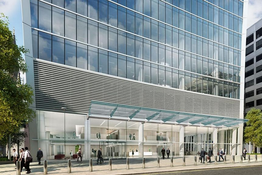 An artist impression of 20 Fenchurch Street - nicknamed the Walkie Talkie because of its flared shape.A British property developer said Tuesday it was investigating after rays deflected by the skycraper melted the side of a businessman's luxury