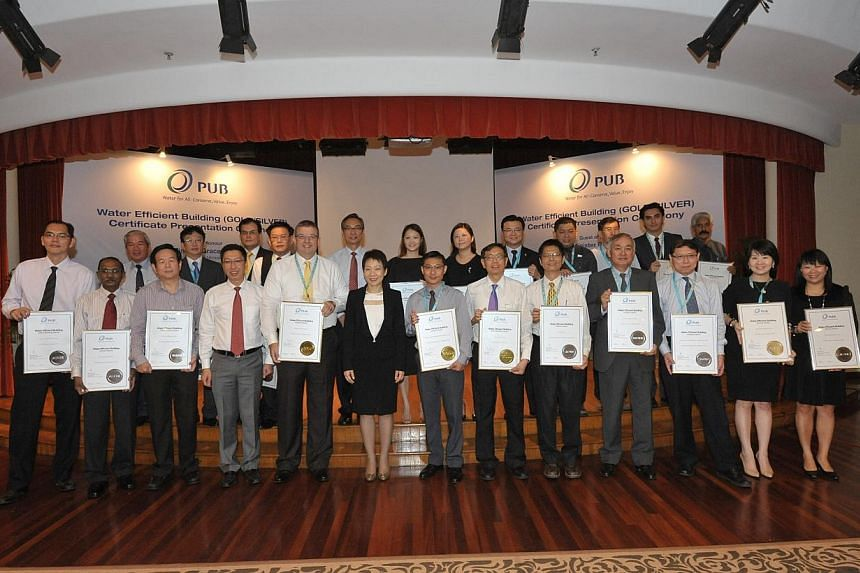 PUB, the national water agency recognised 23 recipients in the non-domestic sector for their exemplary performance in water efficiency. These recipients are the first to be recognised under the Water Efficient Building (Gold/Silver) Certification and