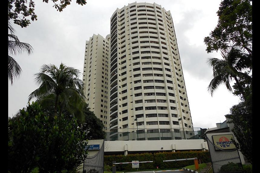 The ruling on Thomson View could have a chilling effect on the market. -- PHOTO: HSR INVESTMENT SALES